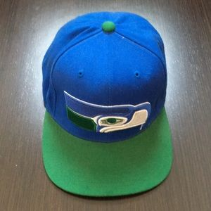 Mitchell & Ness Seattle Seahawks Hat Vintage